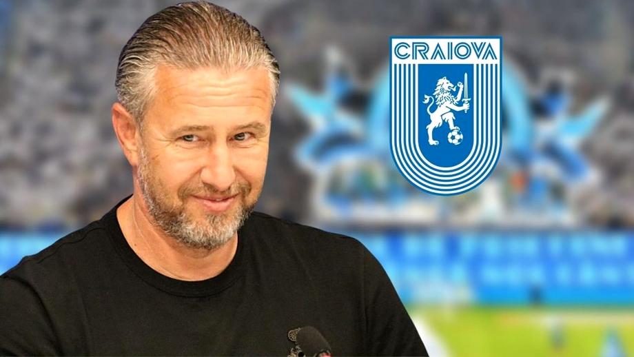 """Laurențiu Reghecampf, obiectiv îndrăzneț la Universitatea Craiova: """"Trebuie să câștigăm tot ce este de câștigat!"""""""