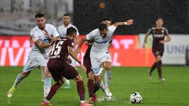 CFR Cluj - FCSB 4-1. Campioana a făcut spectacol în derby-ul de titlu. Cum arată clasamentul