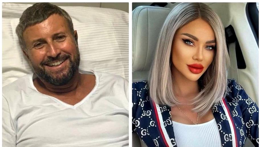 Bianca Drăgușanu, alături de Botezatu care a ajuns pe masa de operație: