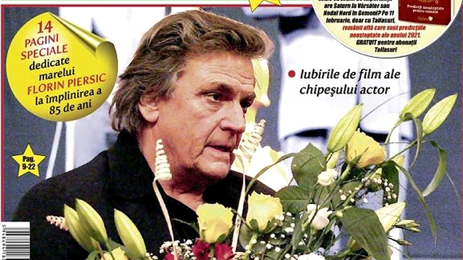 """Piersic de 85 de ani! Revista """"Taifasuri"""" îl cinstește pe """"Mărgelatu"""" cu 15 pagini de excepție! La mulți ani, Florin! România te iubește!"""