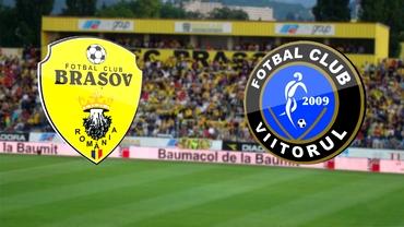 Braşov - Viitorul 1-3. Echipa lui Gică Hagi a dat lovitura sub Tîmpa!