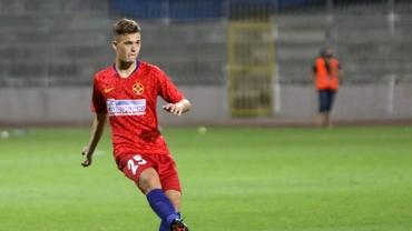 Cine este Ovidiu Perianu, căpitanul de 18 ani al FCSB-ului în Europa League! Dinamo l-a ratat după ce l-a avut