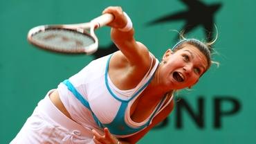Halep a învins-o pe cîştigătoarea de la Wimbledon