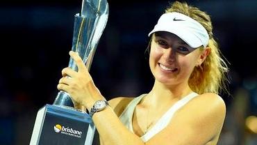 Maria Şarapova a cîştigat titlul de la Brisbane după finala cu Ivanovic
