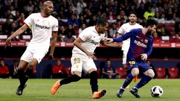Nu i-a păsat că Sevilla a fost umilită de Barcelona! De la finală, direct în club. Foto