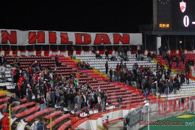 Peluza Cătălin Hâldan, în urmă cu 10 ani la Dinamo - Oțelul