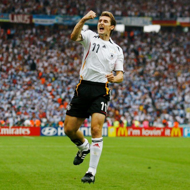 Miroslav Klose la Campionatul Mondial din 2006