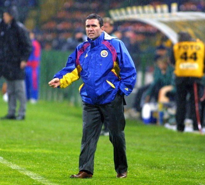 Gică Hagi, antrenorul României în preliminariile Campionatului Mondial din 2002