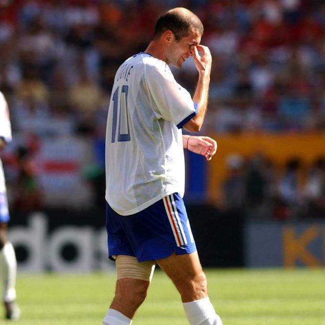 Zinedine Zidane, decepţionat la Campionatul Mondial din 2002