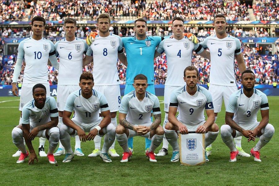 Lotul Angliei la Campionatul Mondial 2018