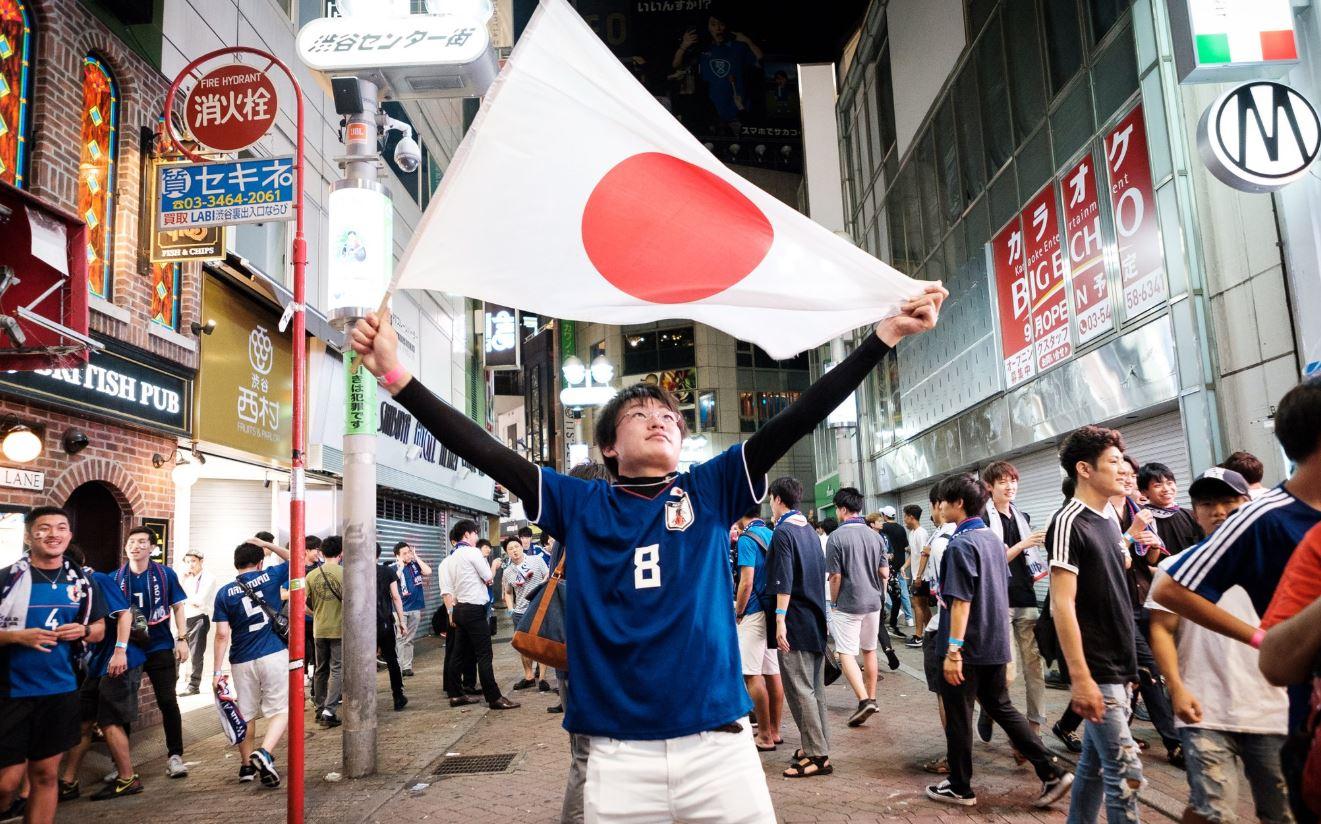 Bucurie japoneză pe străzile oraşelor nipone