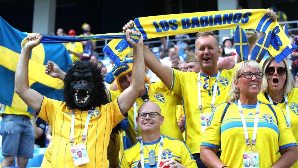 Fanii de la Suedia - Coreea de Sud au făcut show la meciul de la CM 2018.