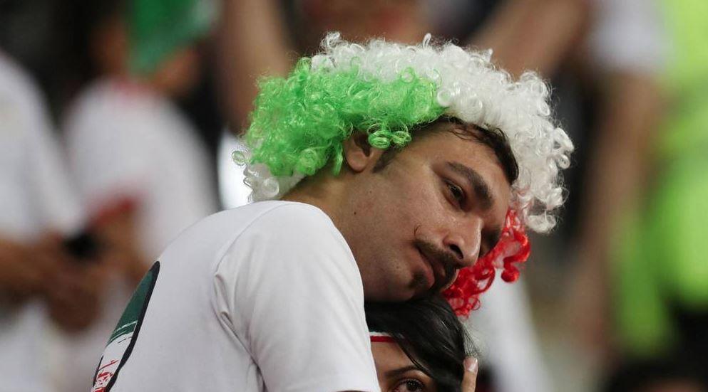 Fanii iranieni au început să plângă la finalul meciului Iran - Portugalia 1-1