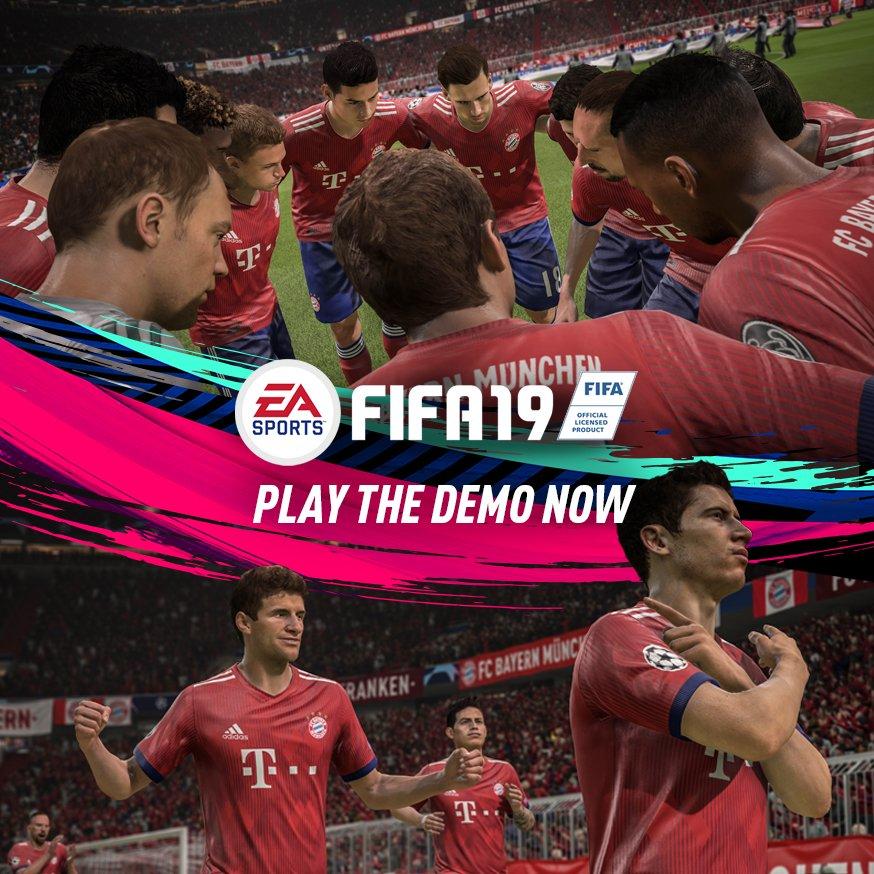 Varianta demo a jocului de fotbal FIFA 19 a fost lansată