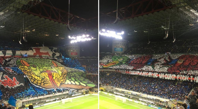 Fanii lui Milan au stiut ce pregatesc rivalii lor