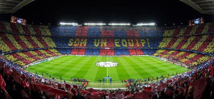 Top 20 cele mai mari stadioane din lume. Camp Nou din Barcelona este cel mai mare din Europa. În 2021 va avea 105.000 locuri