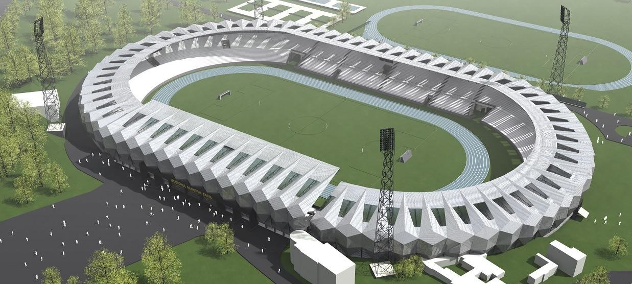 Noul stadion din Bacău
