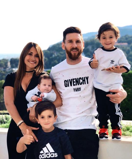 Leo Messi este un familist convins