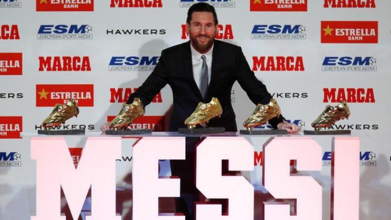 Leo Messi şi cele cinci Ghete de Aur câştigate de argentinian