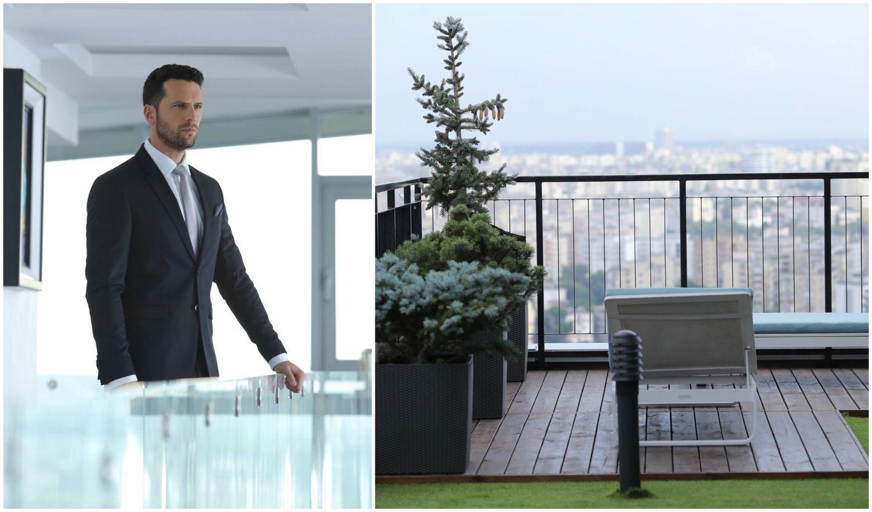 """Vlad Pop, interpretat de Adi Nartea, unul dintre actorii principali ai serialului cu același nume, de la Pro TV, locuiește într-un penthouse cu o priveliște pe care mulți ar da milioane. Apartamentul în care trăiește este situat la etajul 25 al unui bloc dintr-un ansamblu rezidențial, aproape de centrul Capitalei. Proprietatea este absolut impresionantă, are o suprafață de peste 500 de metri pătrați și ferestre înalte ce ajung de la podea până la tavan. Luxosul apartament se întinde pe două niveluri și are o priveliște generoasă cuprinzând parcă aproape tot Bucureștiul. De asemenea, acesta are și o terasă fabuloasă, de 200 de metri pătrați, în care, în zilele senine, se pot vedea munții. În ultimii ani, locuința a fost cumpărată la prețul de 372.000 de euro, însă, acum, proprietatea poate fi achiziționată la o valoare de 1,5 milioane de euro. Primul nivel al proprietății cumulează un fol, living, dinning, două dormitoare, bucătărie open space, dressing, două băi, scară interioară, terase și spații de depozitare. Al doilea nivel este format din două dormitoare, un living și două băi.   În cele din urmă, actorul se poate simți norocos că a câlcat pragul unei asemenea frumuseți. Cât despre încântarea faptului că este protagonistul serialui propus de Pro TV în primăvara aceasta, el spune că: """"În serialul VLAD, oricine se poate regăsi: oricine a iubit, a fost trădat, a reușit, a fost bogat și sărac, oricine crede că există o a doua șansă. Este o poveste de care noi toți avem nevoie, să ne deconectăm, sa ne regăsim și, de ce nu, să ne motivăm. Bucurați-vă de această poveste și fiți alături de noi din 25 februarie"""", a spus Adrian Nartea, înainte de debutul serialului pe micile ecrane."""