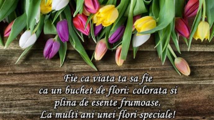 Mesaje, sms-uri și felicitări speciale pentru persoane speciale cu nume de flori. De trimis în Duminica Floriilor