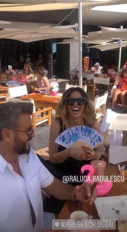 Dubai, Dubai, viață ca-n Rai! Cum și-au făcut apariția Cătălin Botezatu și Raluca Bădulescu la o petrecere de fițe