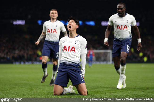 Son a fost cel care a înscris primul gol al lui Tottenham pe noul White Hart Lane