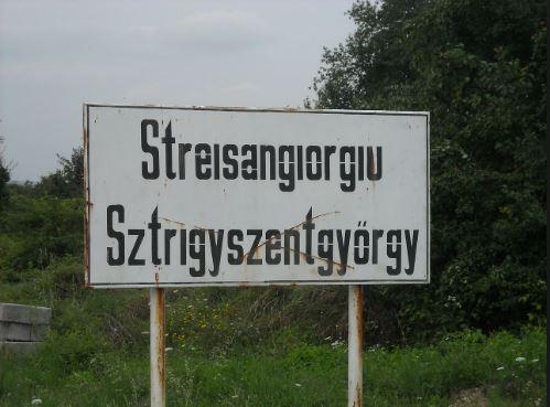La polul opus cu Ip stă localitatea cu cel mai lung nume din România: Streisângeorgiu din județul Hunedoara. Lipit de orașul Călan. Sursa foto: commons.wikimedia.org