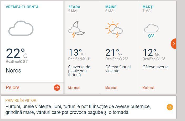 Prognoză de tornadă în București! Anunțul celui mai cunoscut site meteo din lume