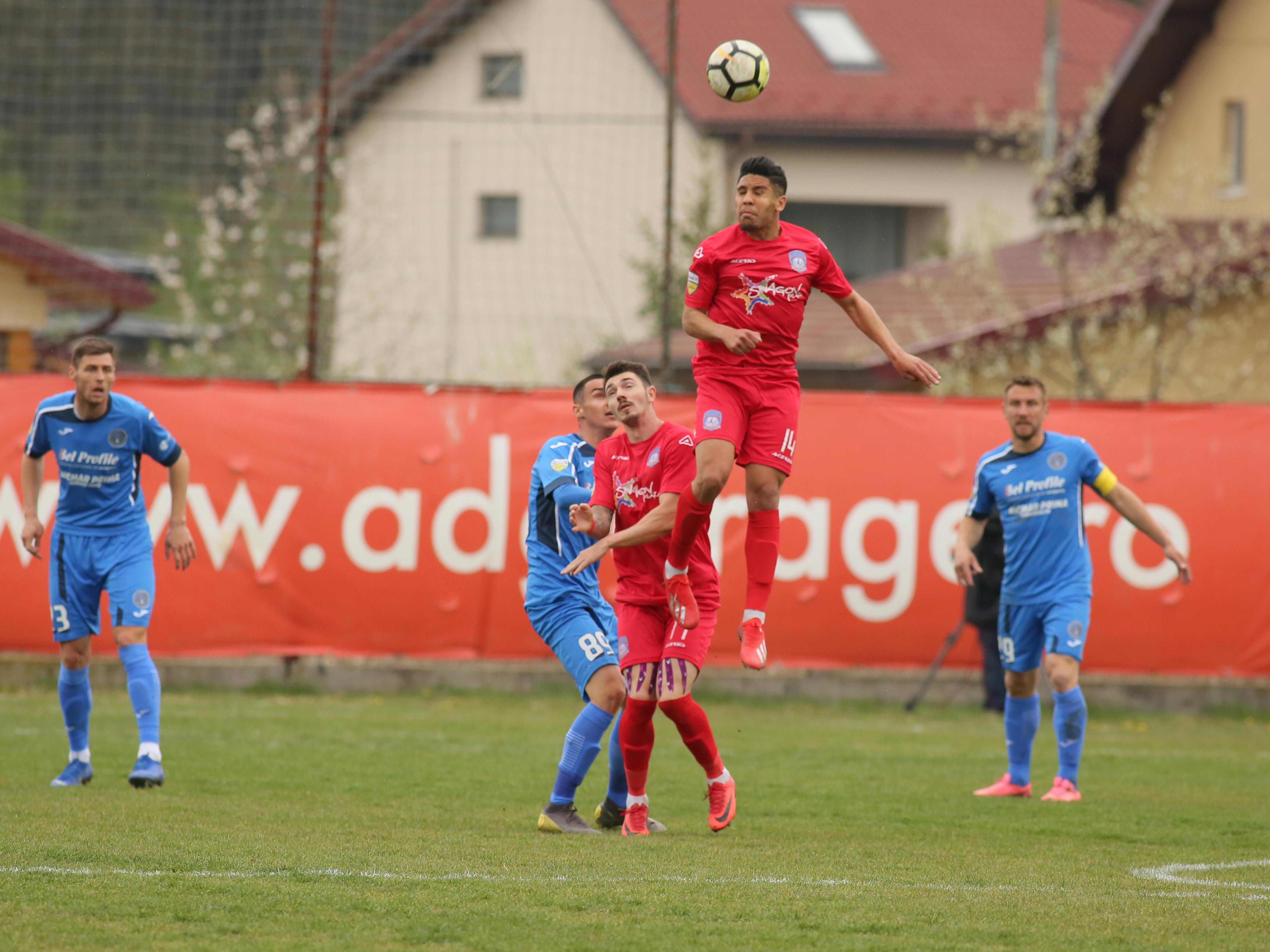 Meciul de fotbal dintre Sportul Snagov si Academica Clinceni din etapa 28 a Ligii a II-a, disputat pe stadionul Vointa din Ghermanesti, duminica, 7 aprilie 2019.© FOTO: Florin Alboiu / Sport Pictures