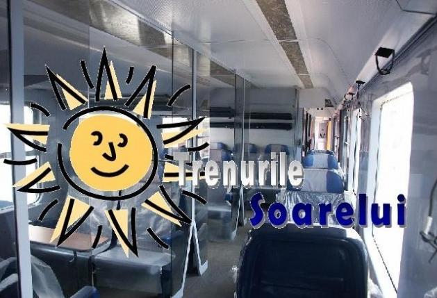 Care sunt rutele pe care vor circula Trenurile Soarelui. Trenurile soarelui