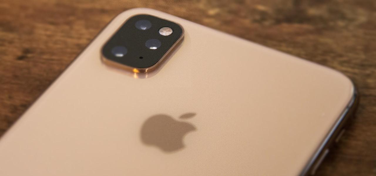 cand apare iphone 11 - imagine cu camera tripla iphone 11 max