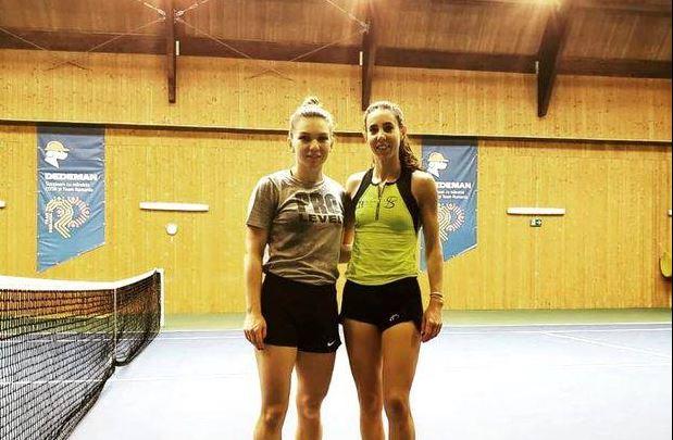 Simona Halep - Mihaela Buzărnescu, în primul duel românesc de Grand Slam! FANATIK a făcut interviuri față în față cu cele două sportive! Simo Când intru pe teren, nu contează cu cine joc! versus Nu, nu, nu!