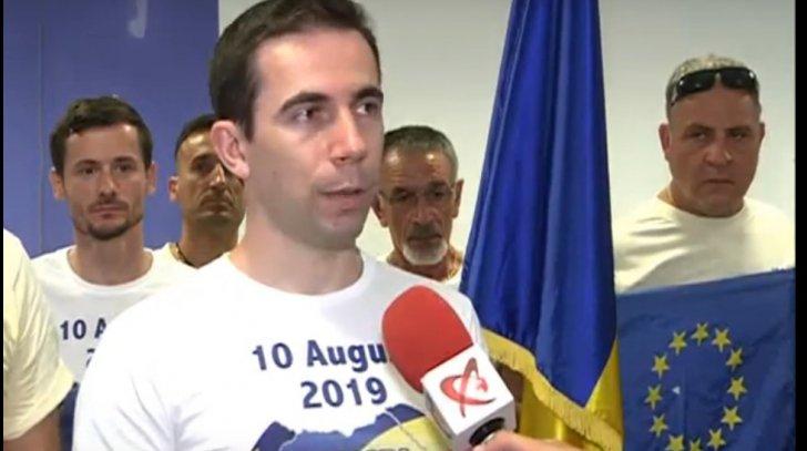 Cine este Tommy Tomescu, cel care organizează protestul din 10 august *foto: realitatea Tv