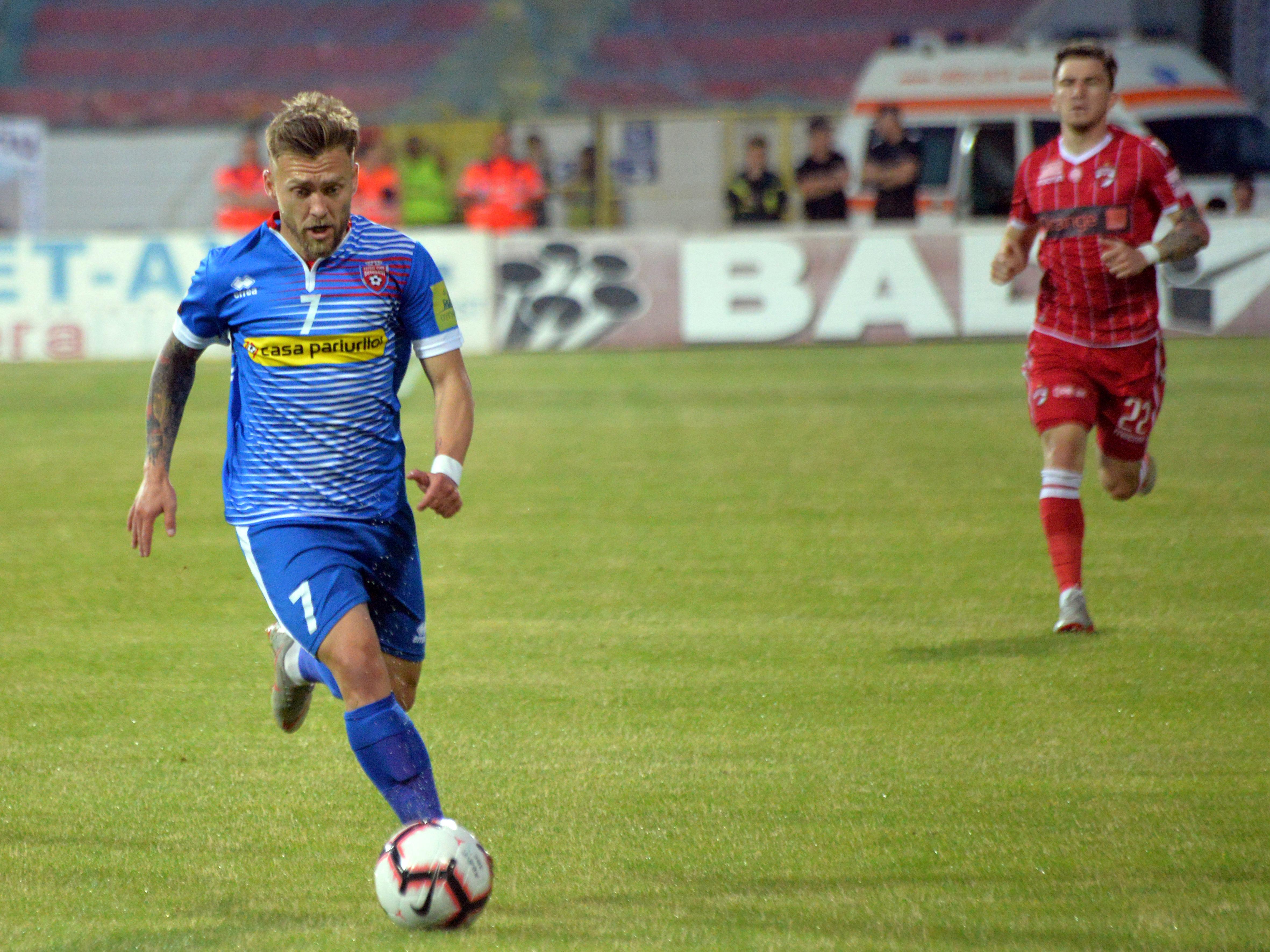 Cătălin Golofca s-a transferat la CFR Cluj. Sursă Foto: Sportpictures
