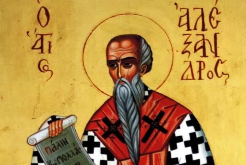 Sfântul Alexandru. Sursa foto: adevarul.ro