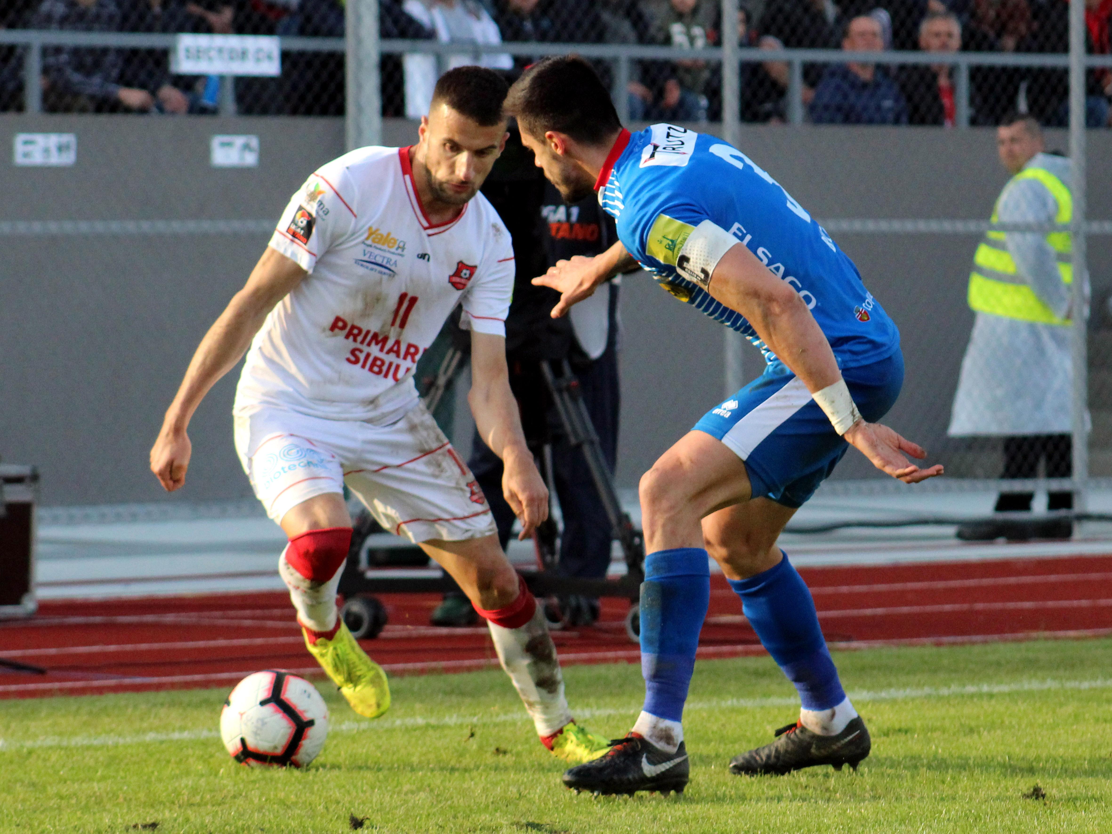 Filip Jazvic a fost dat afară de Hermannstadt în iulie. Sursă Foto: Sportpictures