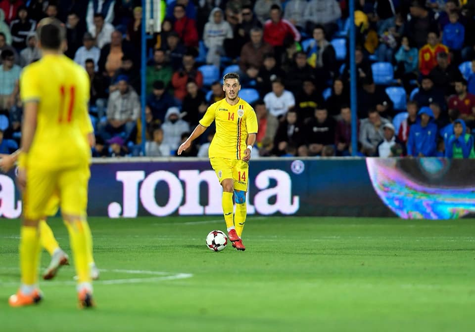 Răzvan Oaidă regretă că nu a jucat la Euro 2019. foto: facebook.com