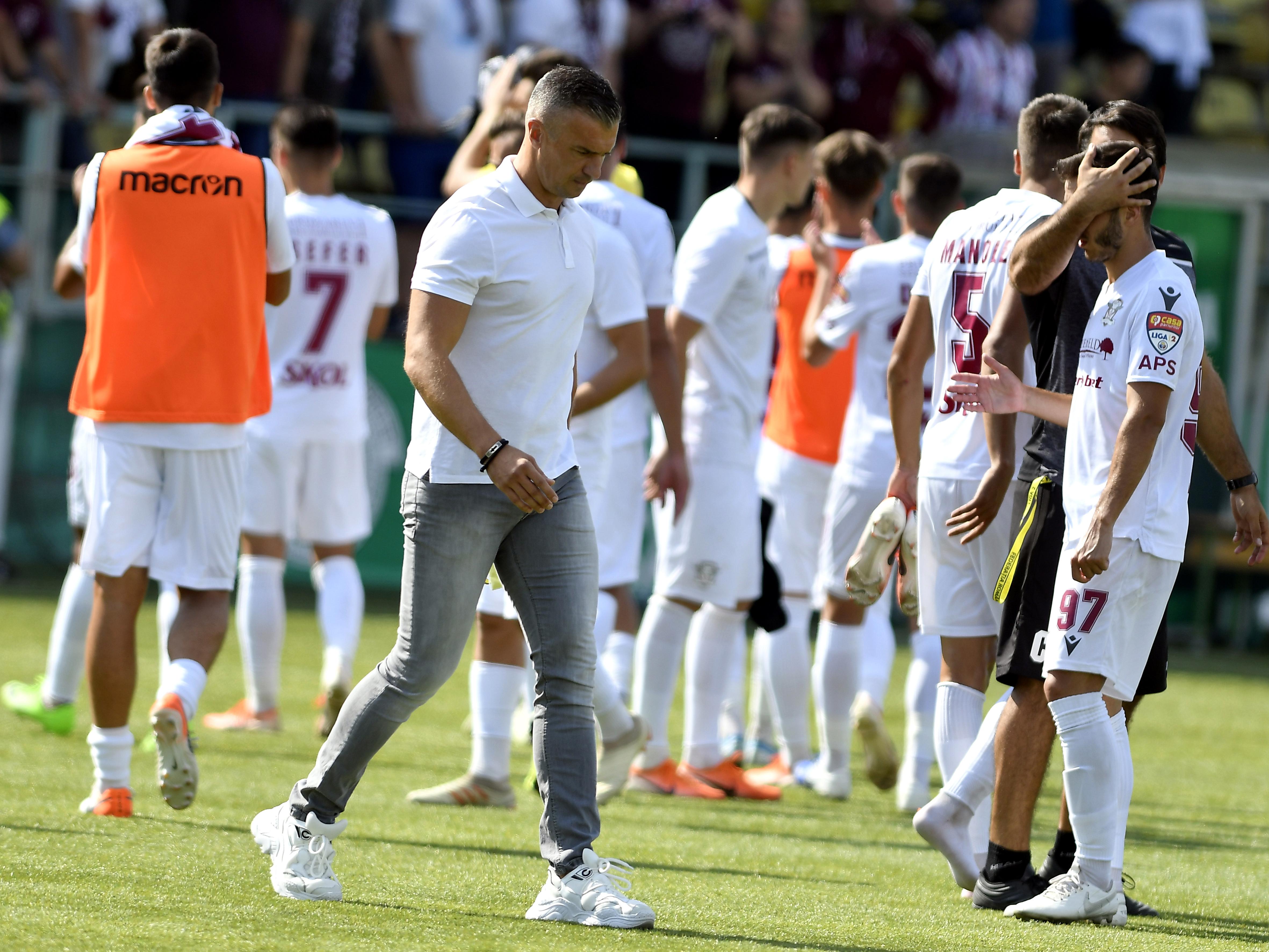 Daniel Pancu are susținerea conducerii Rapidului. Sursă Foto: Sportpictures