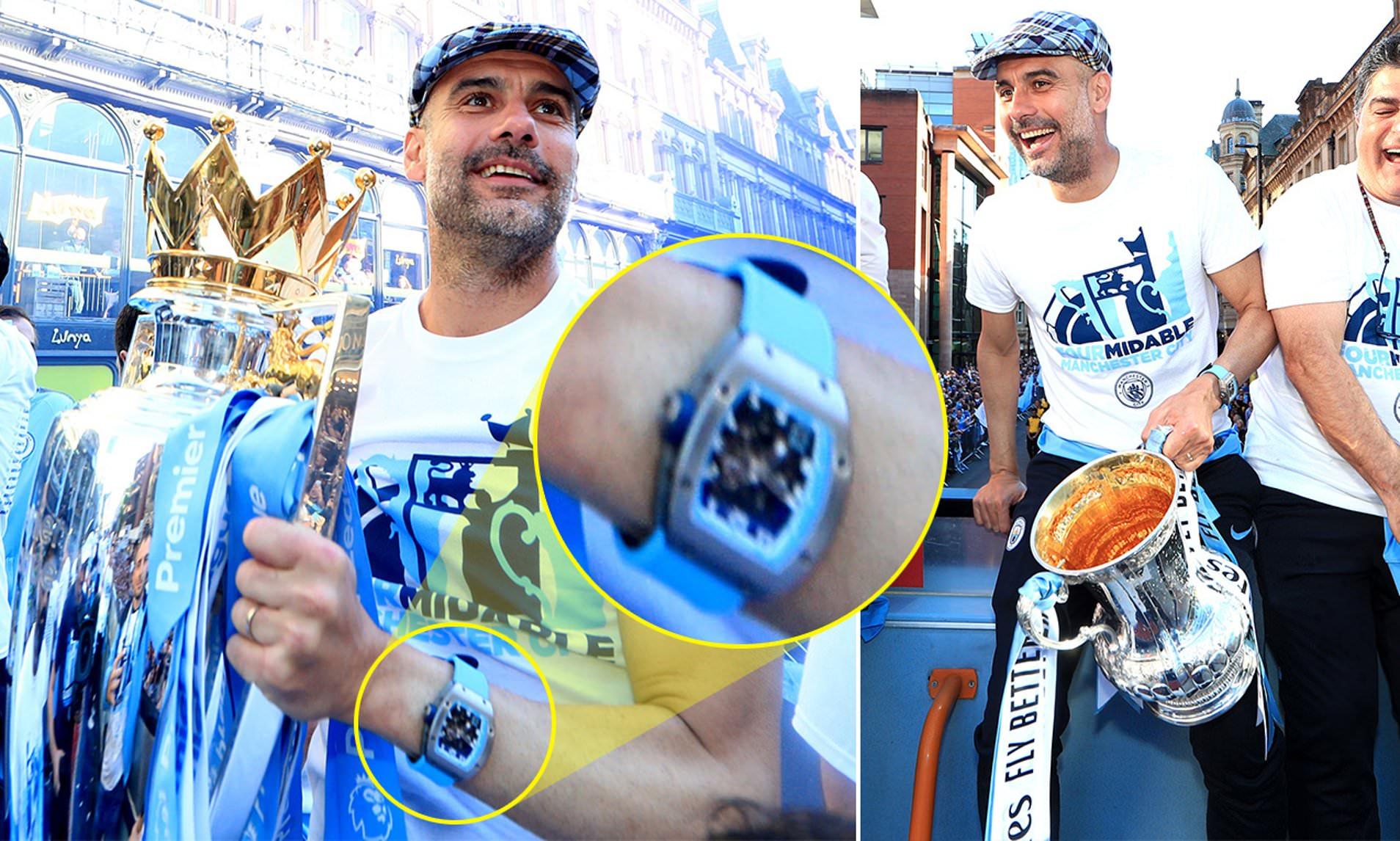 Ceasul lui Pep Guardiola. Sursă foto: thesun.co.uk