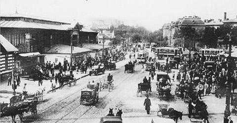 Orasul Bucuresti in urma cu sute de ani