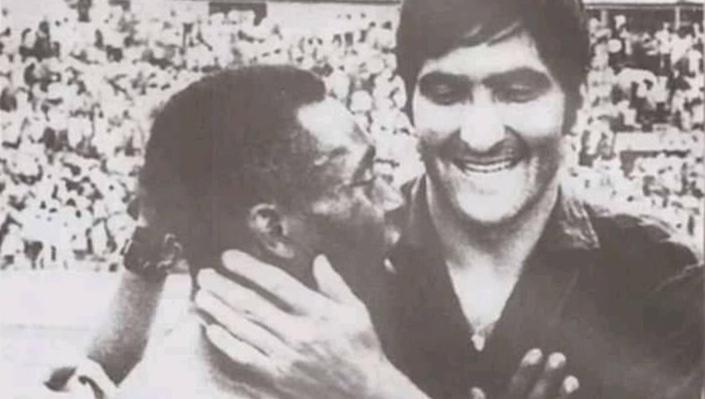 Pele si Rica Raducanu in Mexic 1970