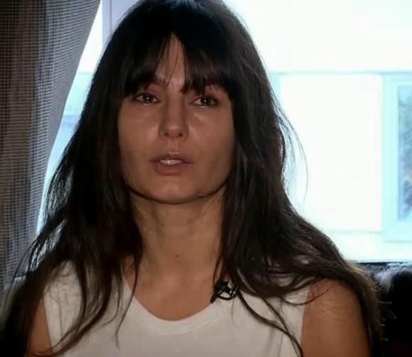 """Dana Budenau, în timpul unei ediții """"Dansez pentru tine"""", unde a plâns după o accidentare care a scos-o din concurs"""