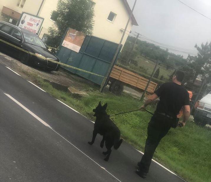 Poliţia a prins făptaşul. FOTO: facebook