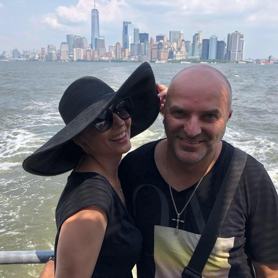 Dan Capatos călătorește cu soția lui peste tot. Foto: Instagram