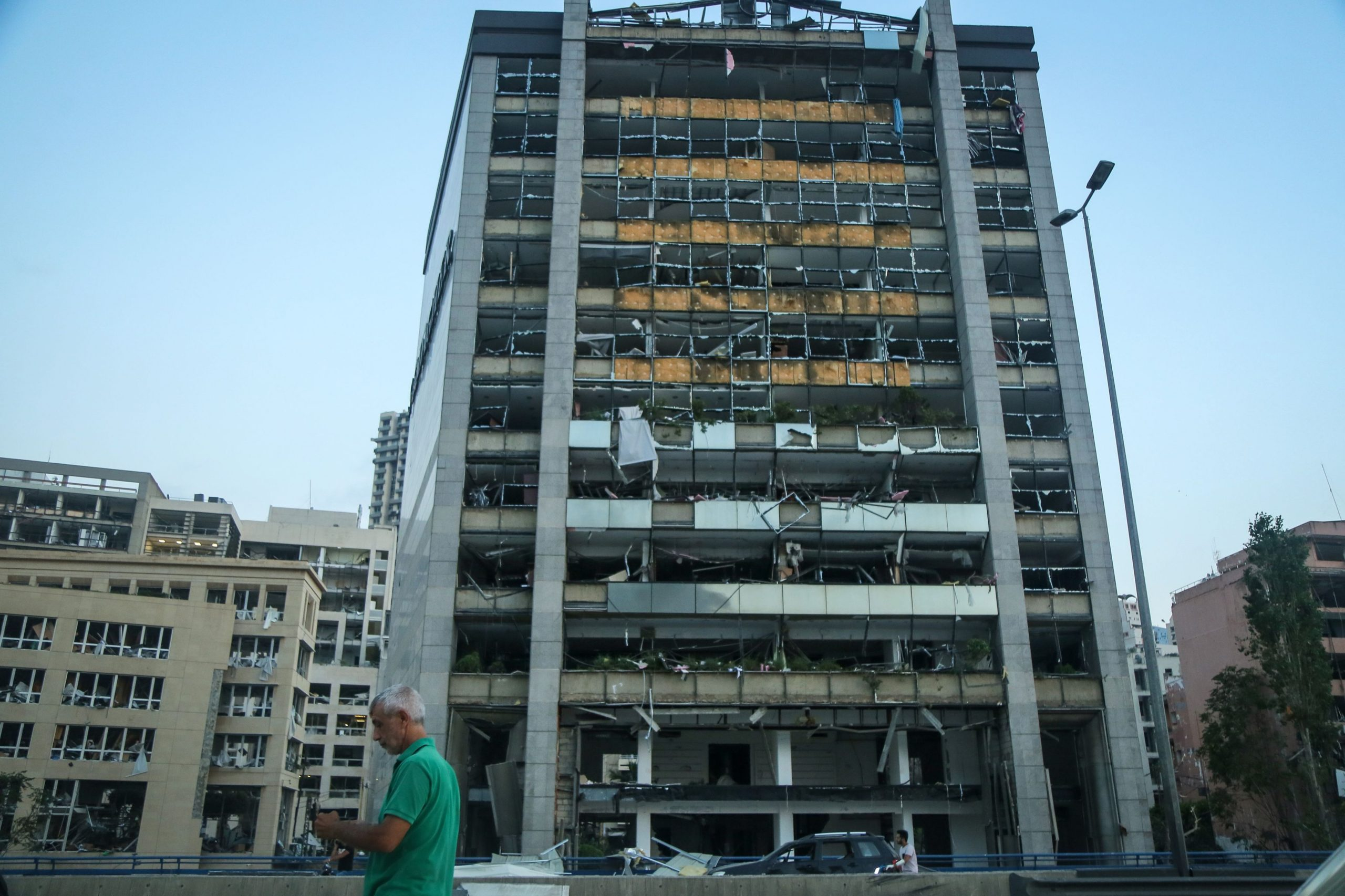 Dezastru în Beirut