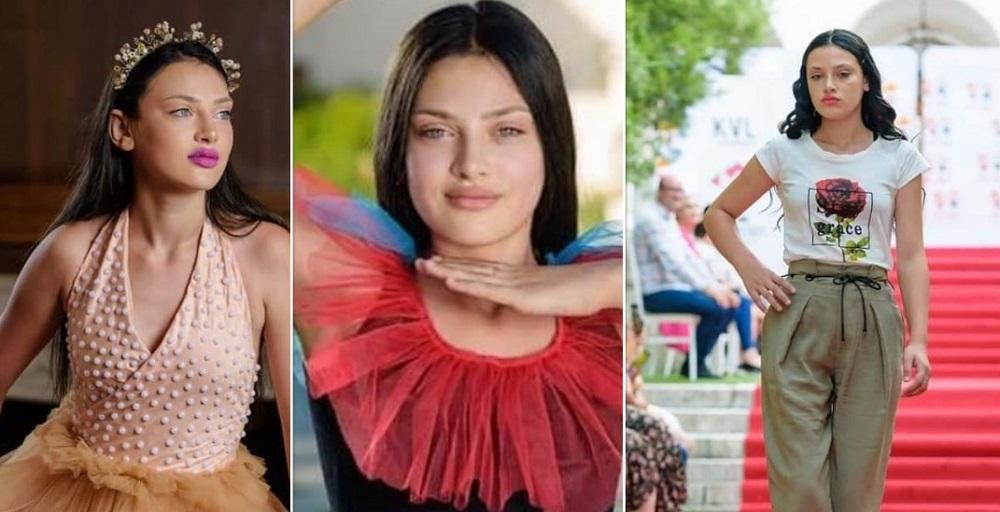 """Ce s-a întâmplat cu """"păpușa de la Glina"""" comparată cu Angelina Jolie, după ce a apărut în revistă. La 14 ani face"""