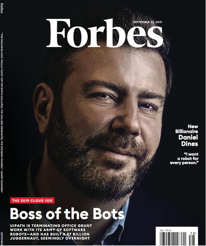 Daniel Dineș a fost pe coperta Forbes