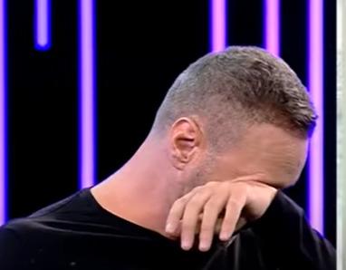 Alin Oprea, în lacrimi la Xtra Night Show