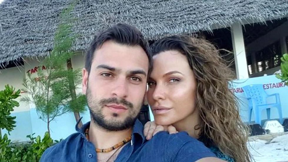 Anna Lesko și Dj Vinnie, pe vremea când formau un cuplu